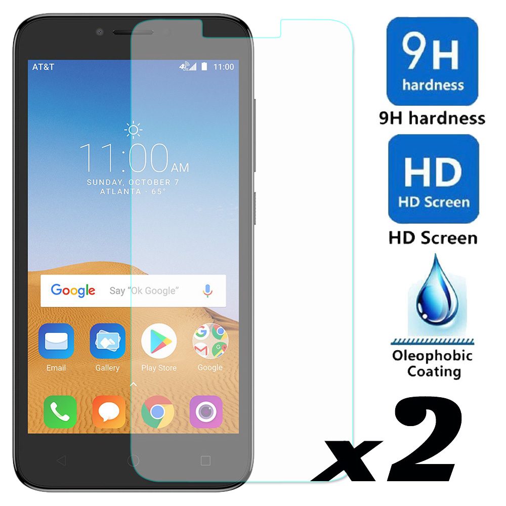 2pcs/lot Tempered Glass Screen Protector Explosion-proof Bubble Free Slim Thin Front Protective Films For Alcatel Tetra 5041C