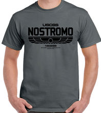 Nostromo - Alien Movie Mens T-Shirt High Quality Casual Printing Tee Top T Shirts Men O Neck Plus Size