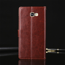 Genuine Leather Original Phone Cover Cases for Samsung Galaxy A5 2017 Case Flip Coque Wallet