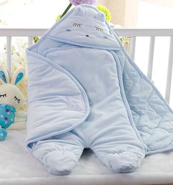 Babyboy babygirl  cotton outdoor  sleeping bags  prevent kicking quilt  two supplies bebe Sleep sacks