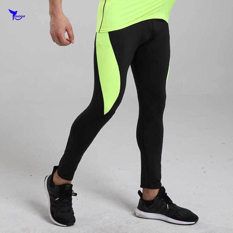 68c67d6189c3 Nuevo 2019 para hombre gimnasio Fitness deporte Leggings elásticos ...