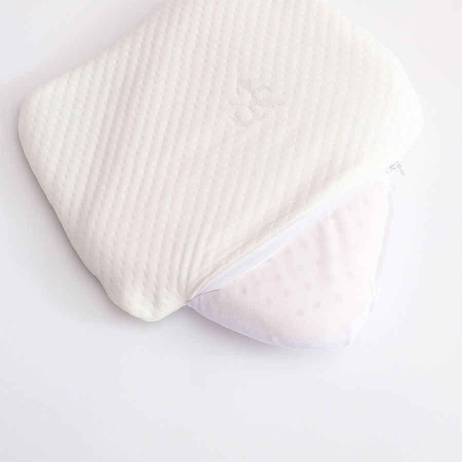 BEYOND CLOUD 25*30cm Natural Latex Baby Pillow Cervical Vertebrae Massage Pillow Health Neck Bonded Head Care Memory Pillow 025