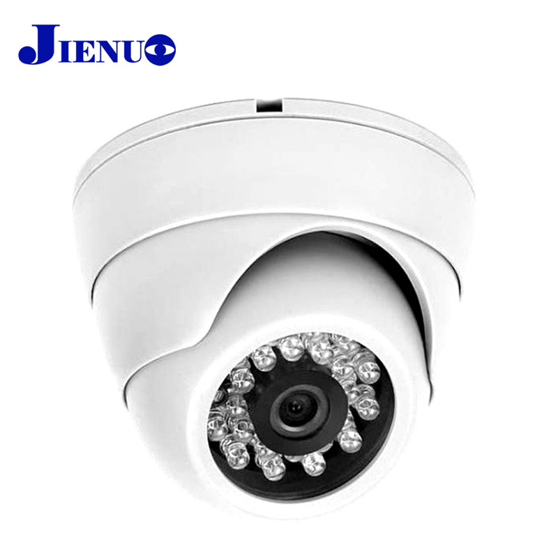 JIENU 720P IP Camera Indoor Dome Cameras IP CCTV Security Camera Network Remote Real-time View Video surveillance Onvif P2P audio wireless explosion proof 720p 1 0mp dome ip camera support p2p onvif hpone view cctv security camera free shipping