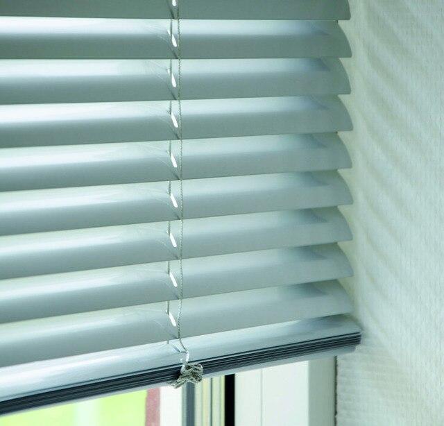 Customized Size Venetian Blinds High Quality Waterproof Shutter Aluminum Roller On Windows For Living