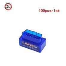 100 개/몫 최저 가격 ELM 327 블루투스 V2.1 OBD II 안드로이드 토크 자동 진단 도구