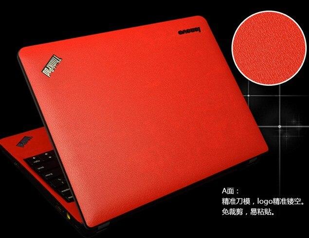 Специальные кожаные виниловые наклейки из углеродного волокна для ASUS G53 G53SW G53SX 15,6 дюйма - Цвет: Red Leather