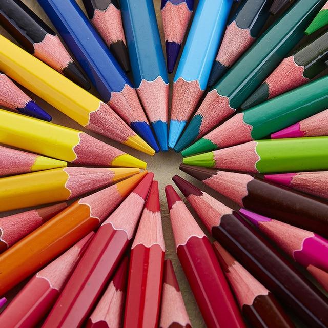 36 48 72pcs Watercolor Pencils, Best Water Soluble Colored Pencil ...