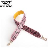 W D POLO Strap You Handbags Belts Women Bags Belt Women Bag Accessory Bags Parts PU