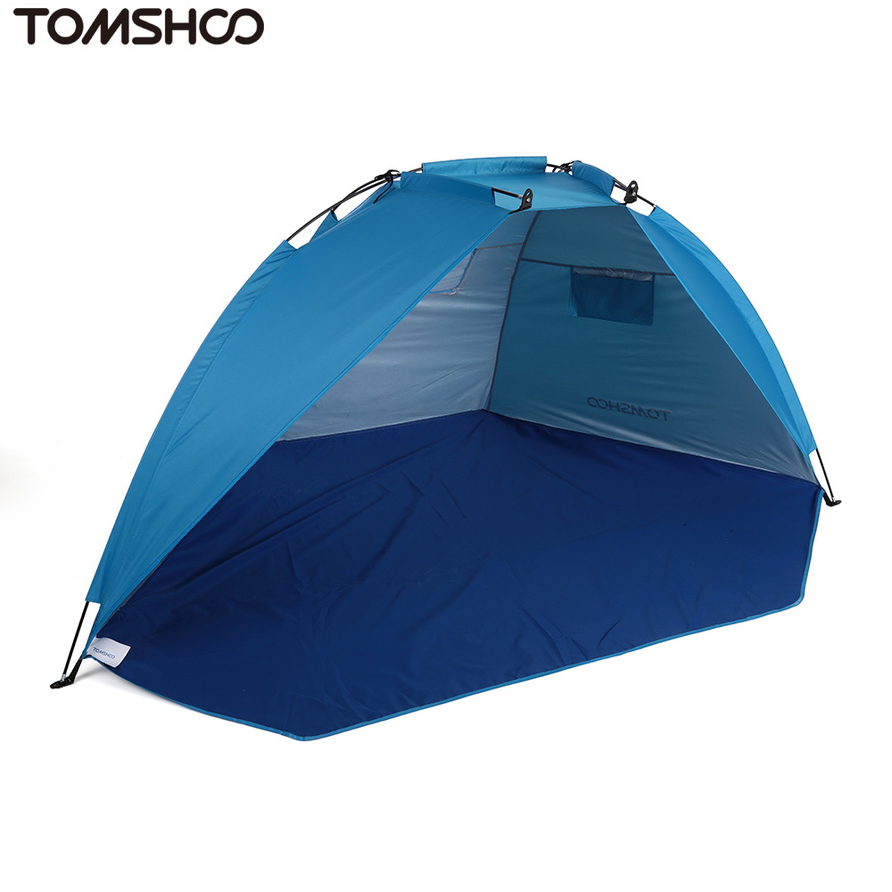 Image 3 - TOMSHOO Outdoor Sports Sunshade Tent for Fishing Picnic Beach Park Camping Tent Travel Tents Outdoor Camping-in Tents from Sports & Entertainment