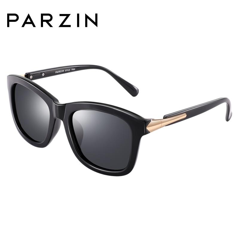 Image 3 - PARZIN Fashion Polarized Sunglasses Women Lovers Beach Sun Shade Luxury Brand Driving Sun Glasses Retro Square Lens UV400-in Women's Sunglasses from Apparel Accessories