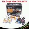 55W Auto Canbus HID Xenon Kit No Error Ballast Bulb Car Headlight 3000K 4300K 6000K 8000K High Lumens For Dodge Ram 2500 2015