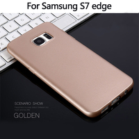 X Level Solid Color TPU Cases For Samsung Galaxy S6 S6 Edge S7 S7 Edge Soft