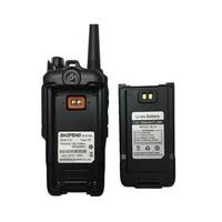 "baofeng uv Baofeng T-57 5W משדר VHF Waterproof מכשיר קשר CB רדיו תחנת ניידת כף יד 10 ק""מ ארוך הטווח UV-9R שתי דרך רדיו (5)"