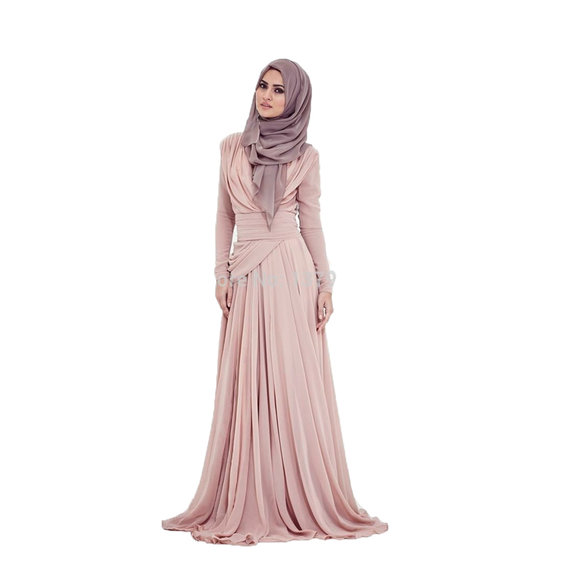 New 2019 A-line High Collar Long Sleeves Champagne Hijab Underscarf Dubai  Moroccan Kaftan Muslim. US  89.00. ANTI Luxury Lace Sequin Evening Dress ... 2e57c7ed29ad
