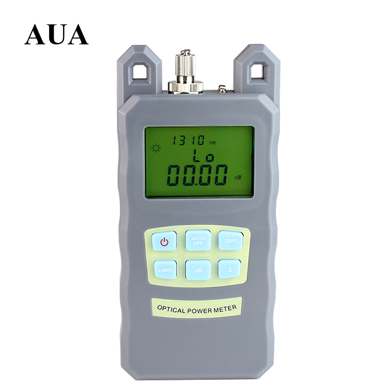 NEW Portable Adjustable Fiber Optic Optical Power Meter Cable Tester Networks FC SC connectors 70 10dBm