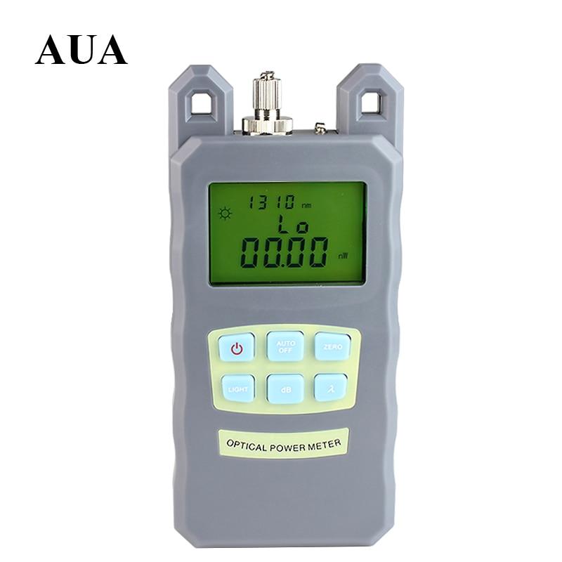 imágenes para NUEVA Ajustable Portátil Medidor de Potencia Óptica Cable Tester de Redes De Fibra Óptica FC/SC conectores-70 ~ + $ number dbm