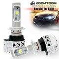 KT LED Headlights for BMW E46 Low Beam D2S Headlights H7 LED Headlight for High Beam White Light 6000LM PER CREES SETS 12V-6V