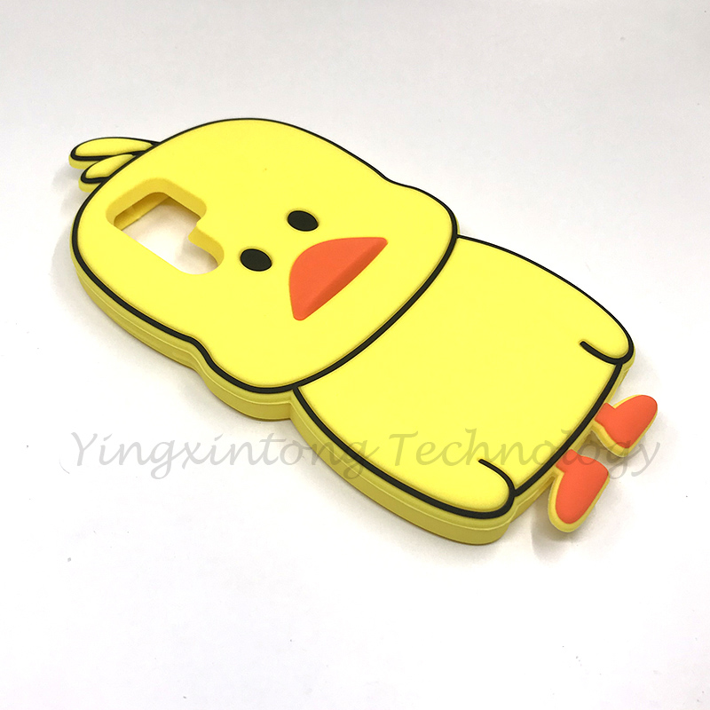 Yellow Duck Soft Silicone Cases For Huawei P30 Pro 3D Cute Protection Back Cover For Coque Huawei P30 Fundas Cartoon Phone Case in Fitted Cases from Cellphones Telecommunications