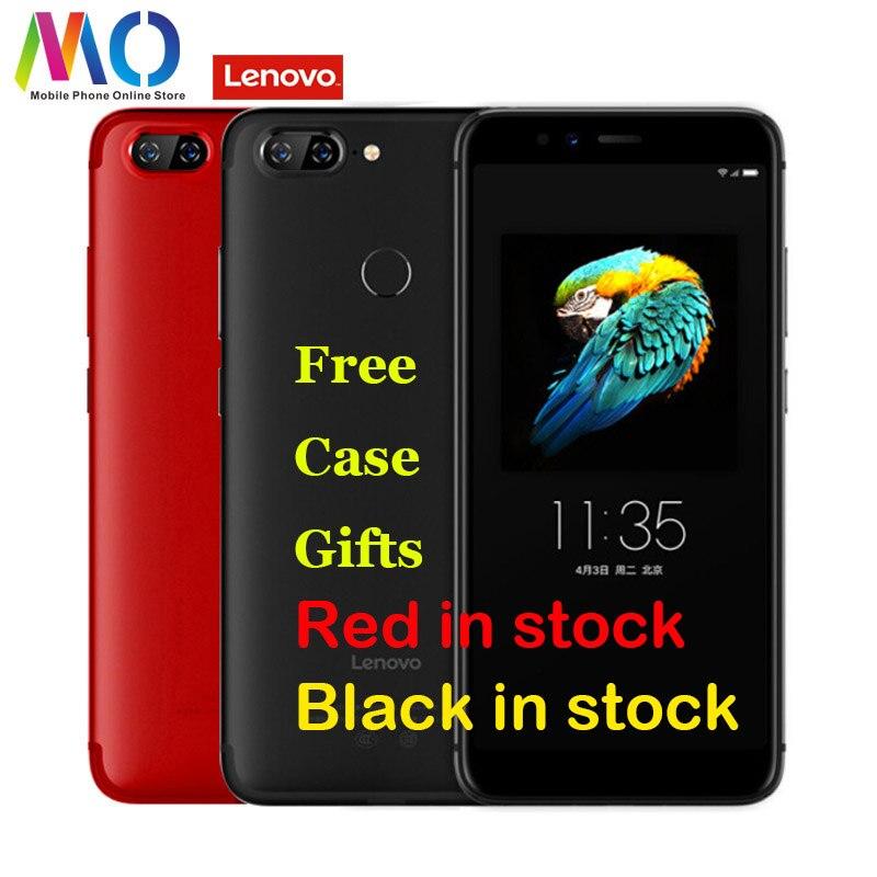 Lenovo S5 K520 Smartphone Android Celular Débloqué téléphone portable Mondial Version 4 GB 64 GB Octa-core Visage ID 5.7 d'empreintes digitales 13MP