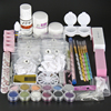 New 1 Set Acrylic Powder Nail Acrylic Liquid Pink White Clear Color Acrylic Nail Powder For