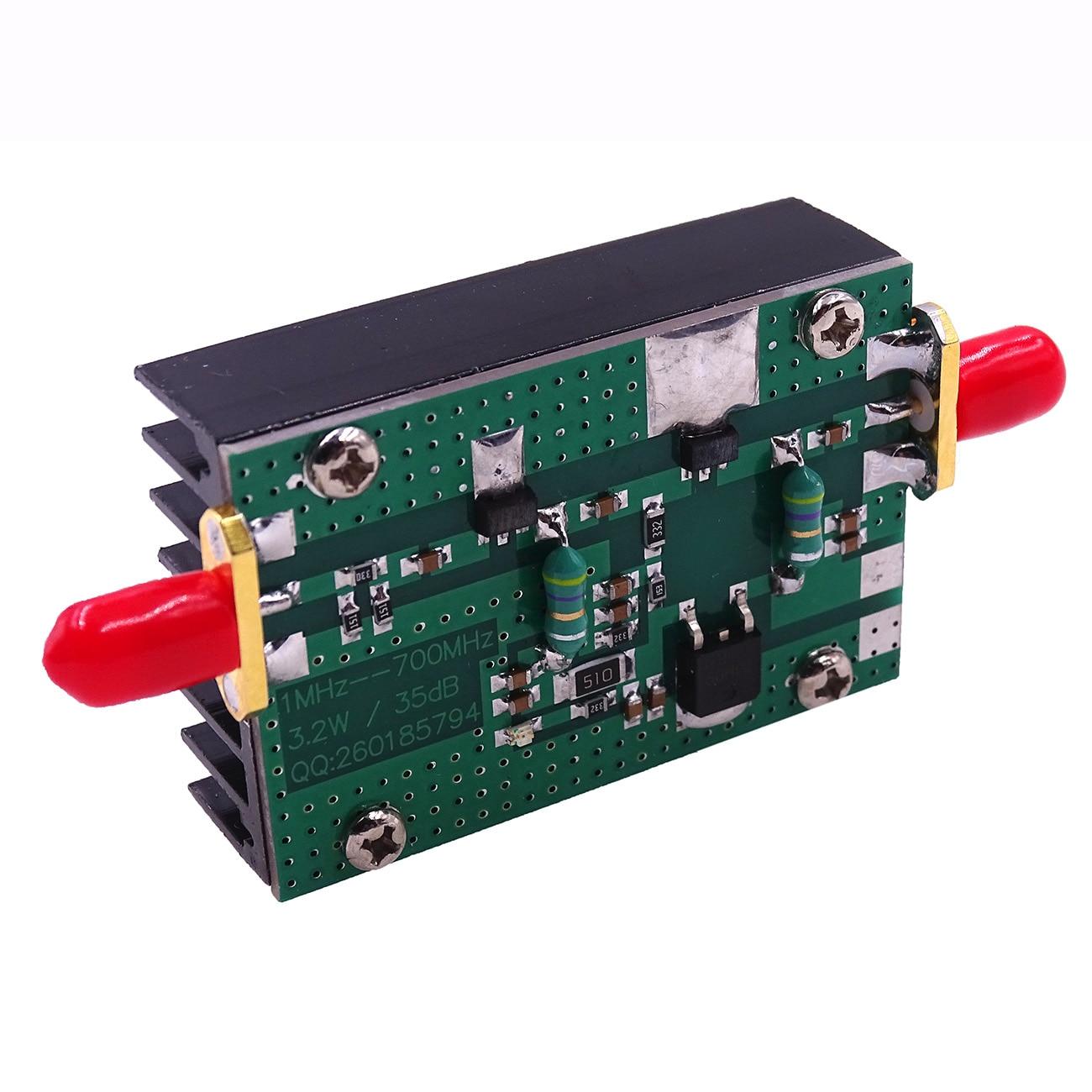 1mhz 1000mhz 35db 3w Hf Vhf Uhf Fm Transmitter Broadband Rf Power 70mhz Amplifier 1pcs New Arrival 700mhz 32w