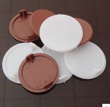 Superbe Furniture Accessories Plastic Hole Plug Plastic Pipe Hole Cover Hole  Stopper Head Hinge Hole Plug 35mm