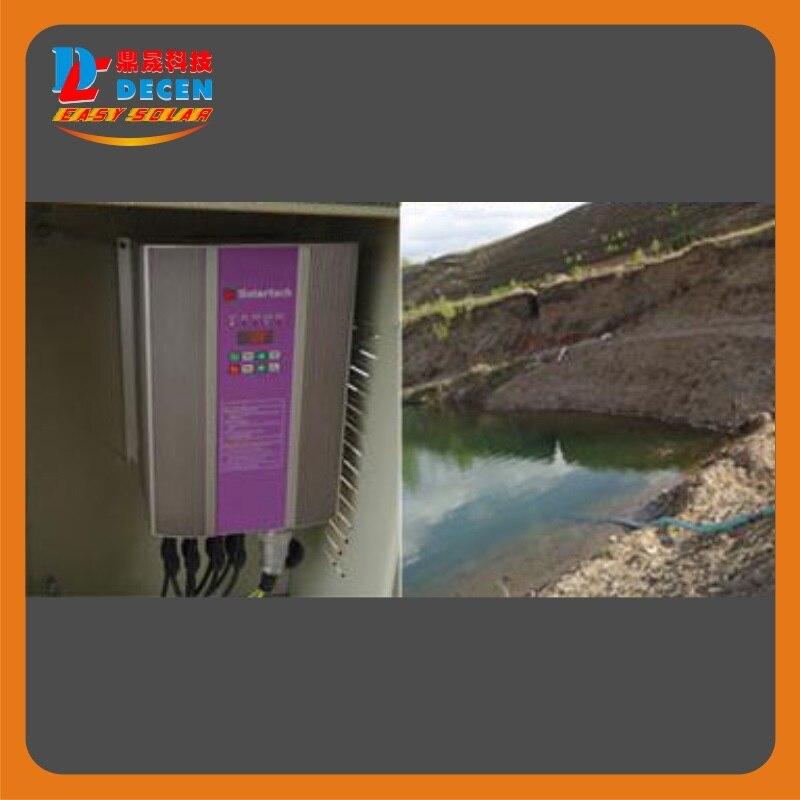 5500 Вт солнечный насос + 7500 Вт PV инвертор насос для солнечной накачки Системы адаптации напор воды (75 48 м), ежедневно водоснабжения (60 100m3) - 6