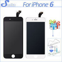 30PCS LOT AAA For IPhone 6 LCD Display With Frame Touch Screen Digitizer Replacement Assembly Mobile