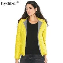 Zipper Hooded Women Winter Jacket 2018 New Brand Spring Autumn Slim Warm Coat Solid Color Short Ladies Padded Fashion Jacket