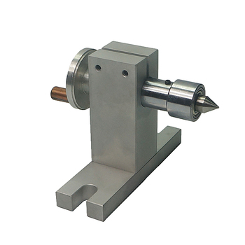 MT2 54mm Center Height Tailstock use for 65mm Chuck 4th Axis CNC machine drilling and milling Machine 1