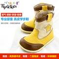 TipsieToes Marca de Alta Calidad de Cuero Genuino Los Zapatos de Niños Y Niñas Niños Otoño Invierno Nieve 24001 El Envío libre