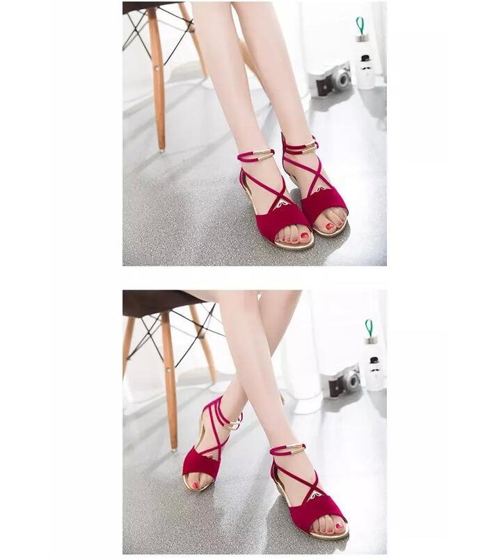 HTB11zinosrI8KJjy0Fhq6zfnpXam XDA 2019 fashion Women zipper sandals Shoes woman footwear sandals Women's summer shoes Gladiator Casual Ladies Shoes