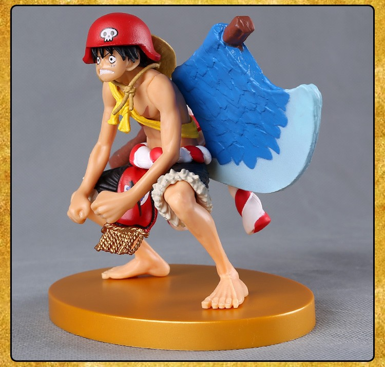 Toys & Hobbies Monkey D Luffy Doll Pvc Acgn Figure Garage Kit Toy Brinquedos Anime 12cm For Sale One Piece Luffy Action Figure One Piece Film Gold Ver