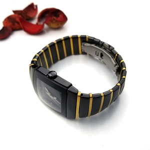 Image 2 - 20mm 29mm 32mm Keramik Uhr Band Armbanduhr für Rado Sintra Serie Marke Armband Mann Frau Schwarz