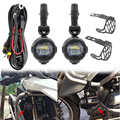 Motocykl led światła przeciwmgielne bezpieczeństwo lampa do jazdy z rowerem pomocnicze akcesoria przeciwmgielne osłony i kable w wiązce do BMW R1200GS ADV