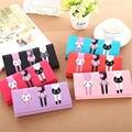 Ulrica Brand Clutch Bag PU Leather Wallet Women Female Money Wallets Long Design Cat Pattern Purses Women Party Bags Hot 2016
