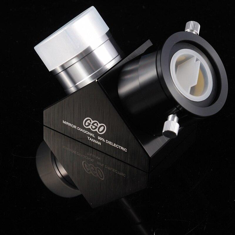 GSO 2 99% Dielectric Mirror Diagonal gso 1 25 3 element 2 5x barlow lens