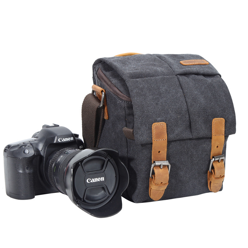 DSLR Camera Bag Case for <font><b>Canon</b></font> EOS 200D 100D 77D 600D 700D 750D 6D <font><b>60D</b></font> 70D 1300D 1200D 1100D Waterproof Shoulder Bags <font><b>Cover</b></font> image