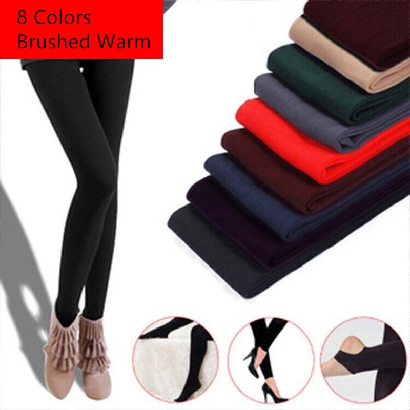Jeseca New Sexy Women Autumn Winter Tights Plus Pantyhose Stocking Kawaii Lingerie Female Slim Warm Brushed Leggin Collant Femme