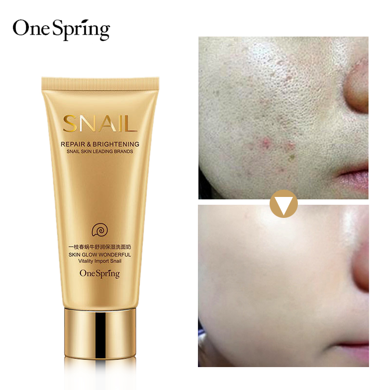 Snail essence natural ingredients face deep cleansing mild moisturizing hydrating pore cleanser product onespring mizon pore shrinkage pore essence pore tight oil control essence 50ml