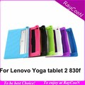 "For Lenovo Yoga 2 830f 8"" tablet silicon case,For Lenovo yoga tablet 2 830f sweety silica gel Soft back cover,many color"