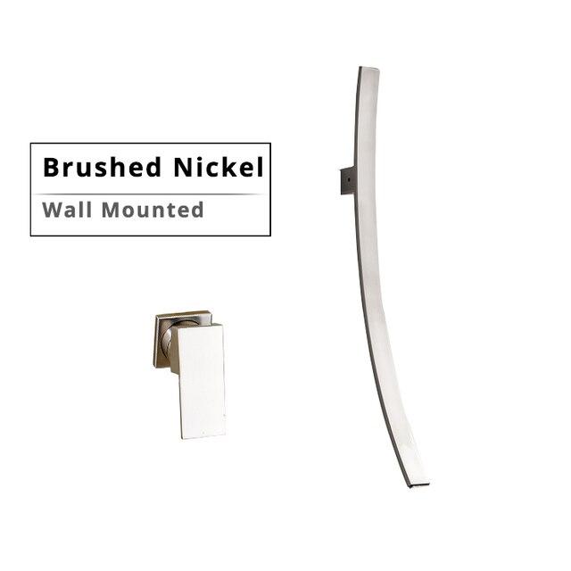Wall Brushed Nickel