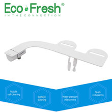 Fresh Water Spray | Non-Electric | Bidet Toilet Attachment in White with Self Cleaning Nozzle | SafeCore Internal Valve | Nozzle