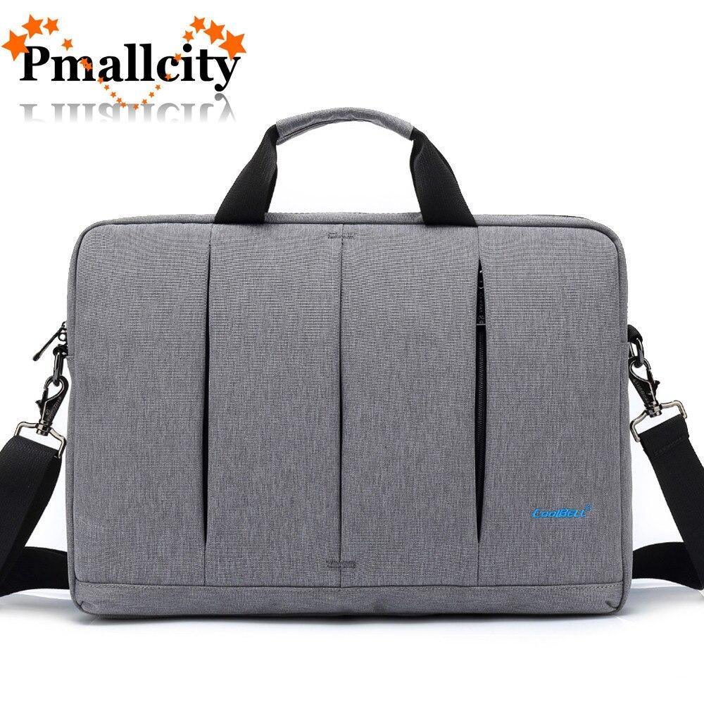Business Laptop Bag 15.6 15 inch Notebook Shoulder Bag Multi-compartment Computer Messenger Laptop Briefcase Women men Handbag все цены