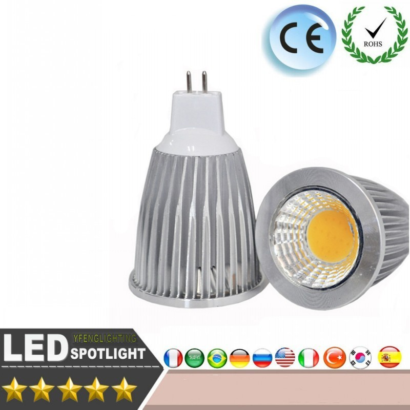 LED Light COB MR16 12V 20W LED Bulb Spot Light Dimmable Warm White/Cool White High Power CREE LED Lights Downlight Lighting