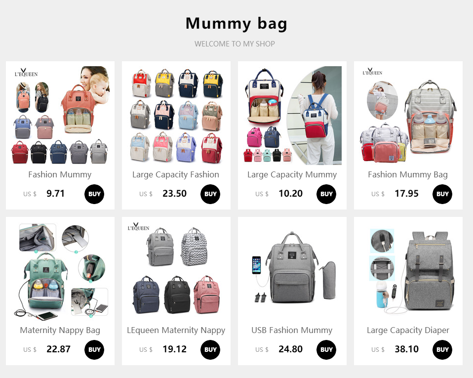 HTB11zkdX.Y1gK0jSZFM761WcVXaf Lequeen Fashion Mummy Maternity Nappy Bag Large Capacity Nappy Bag Travel Backpack Nursing Bag for Baby Care Women's Fashion Bag