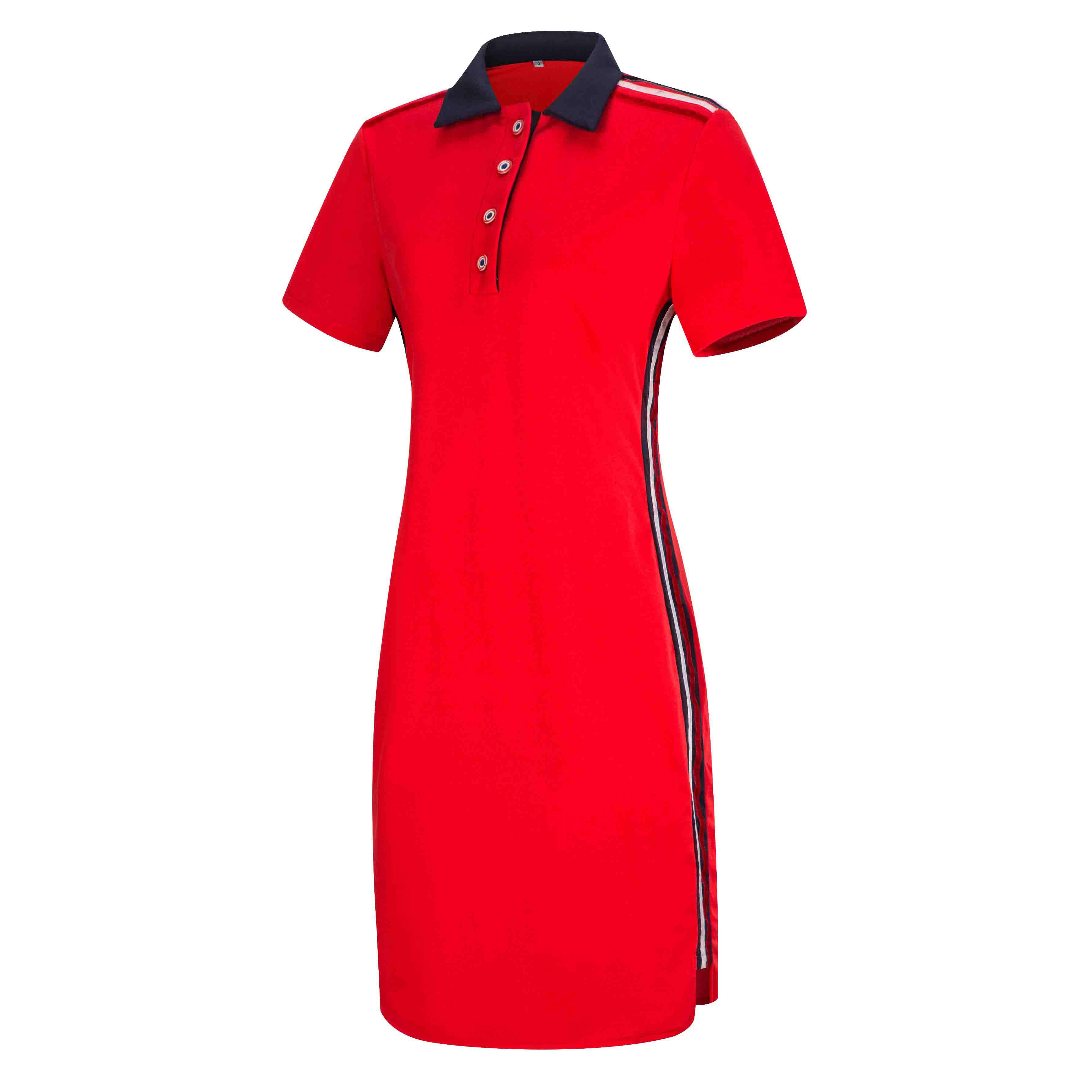 search for latest select for latest timeless design US $16.69 42% OFF|Women Plus Size Short Sleeves Polo T Shirt Top Stripe  Bodycon Midi Pencil Dress-in Dresses from Women's Clothing on AliExpress -  ...