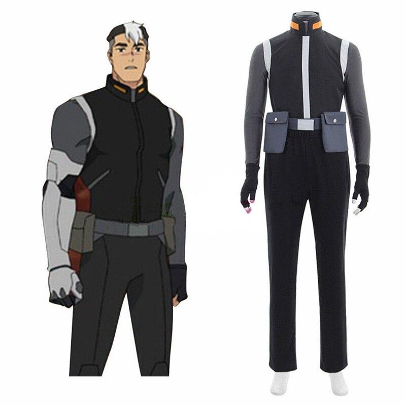 Amine Voltron Legendary Defender Shiro Takashi Shirogane Cosplay Costume