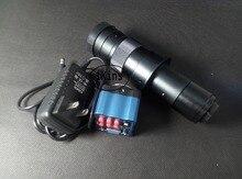 2016 новый 2MP HD выходы VGA промышленности микроскоп камера + 180x C — крепление объектива для лаборатории печатных плат мобильный телефон ремонт