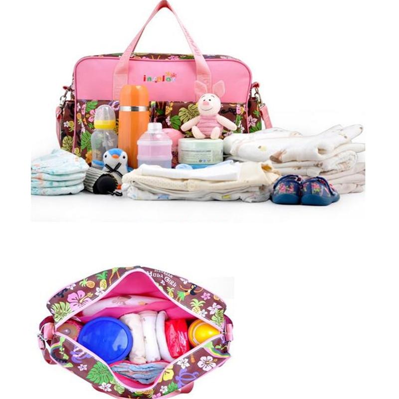 HTB11zkvLPDpK1RjSZFrq6y78VXas Mummy Maternity Nappy Bag Stroller bolsa Large Capacity Baby Travel Backpack Mommy Nursing Bag Baby Care Changing Diaper Bag